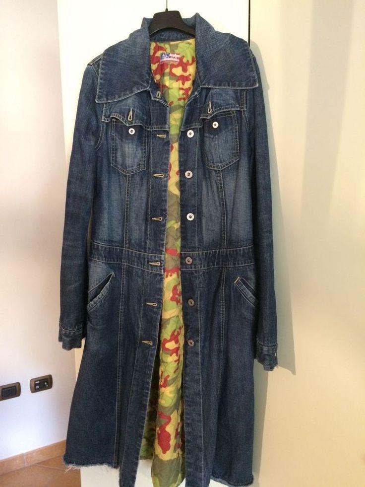 Cappotto di jeans donna tg. 44