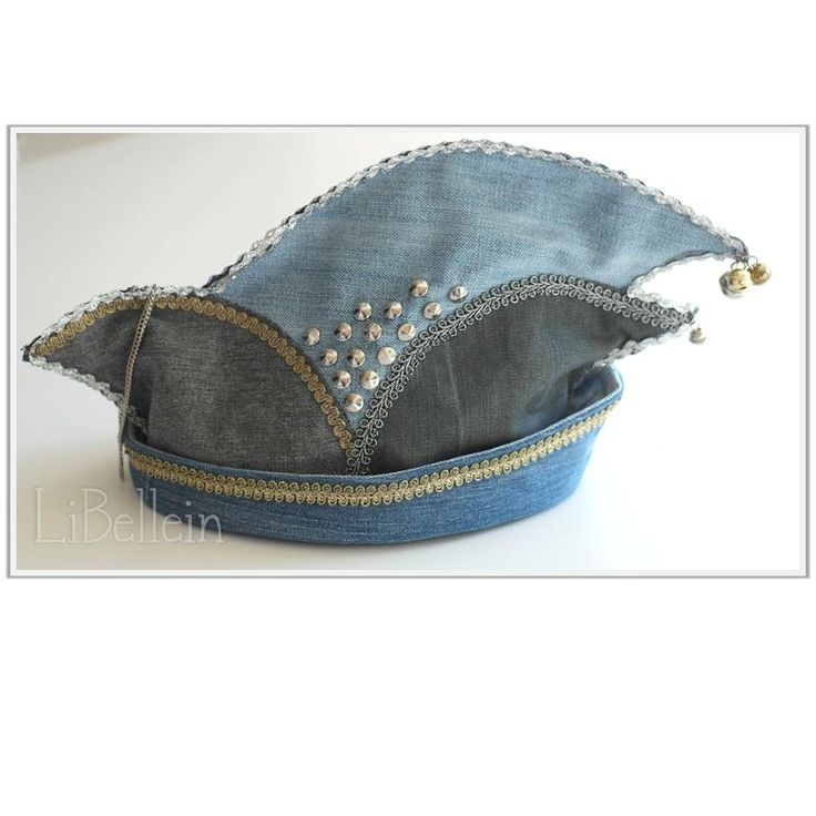 Karnevalshut aus alten Jeans / Carnival's hat made from old jeans / Upcycling