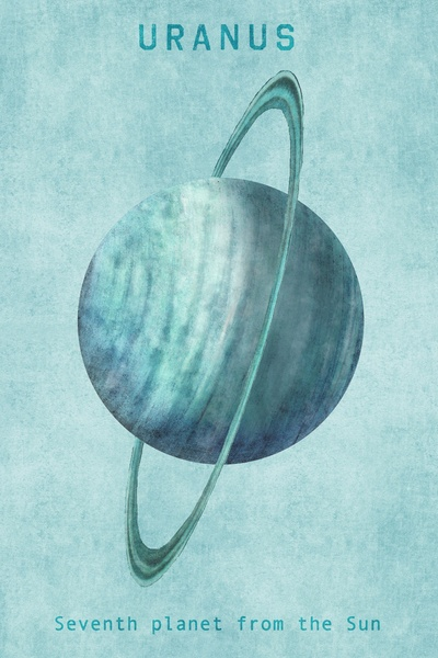 "Uranus - first planet discovered not known in ancient times, named for Ouranos, ""heaven,"" in Greek cosmology, father of the titans. Cf. Urania, name of the Muse of astronomy. The planet was identified in 1781 by Sir William Herschel who proposed calling it Georgium Sidus, literally ""George's Star,"" in honor of King George III of England. The planet was known in English in 1780s as the Georgian Planet; French astronomers began calling Herschel; German astronomer Johann Bode proposed Uranus."