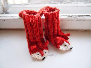 Fox Socks(Finnish Free Pattern)