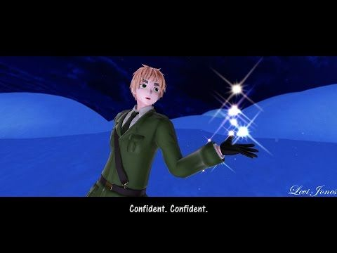 [MMD] Let it go Hetalia ||Ice Skating Edition|| - England (English male ver) - YouTube