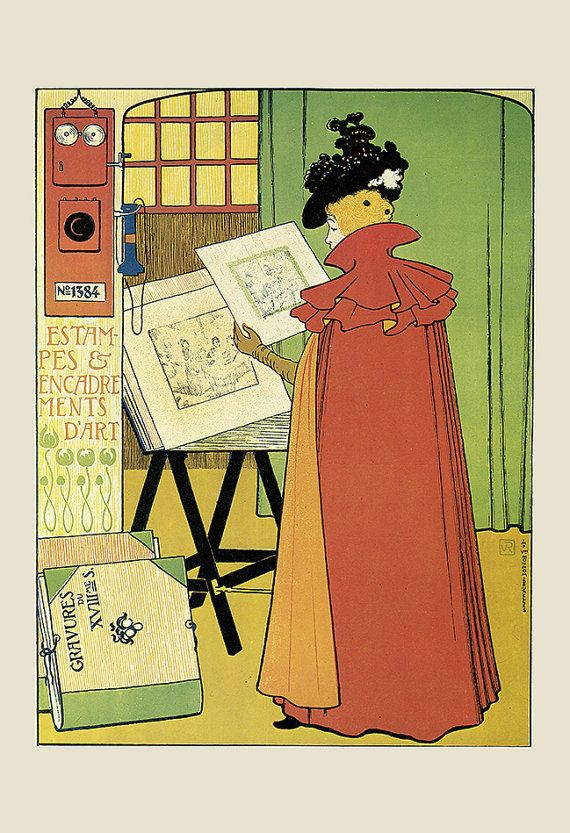 Belle Epoque Poster Print Fine Art Poster by EncorePrintSociety