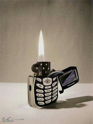 Cool lighter