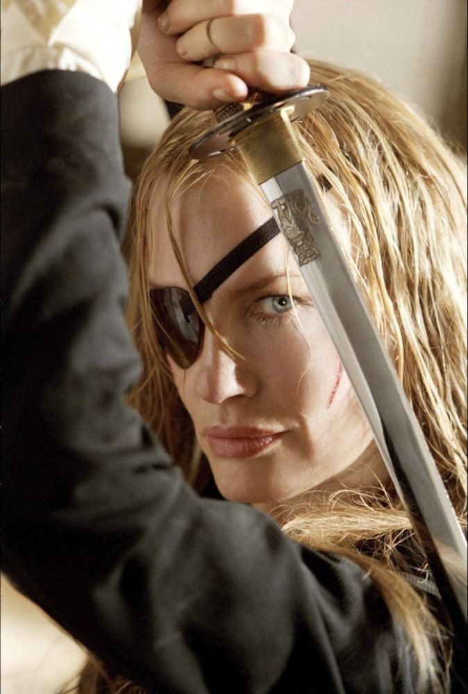 Daryl Hannah as Elle Driver a.k.a. California Mountain Snake (Kill Bill)
