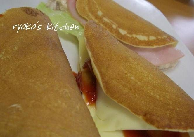 Packed With Your Favorites Pancake Sandwiches Recipe -  Very Delicious. You must try this recipe!