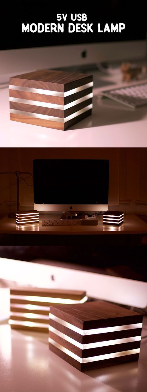 Modern LED Desk Lamp. Powered by 5V USB.. mehr zum…