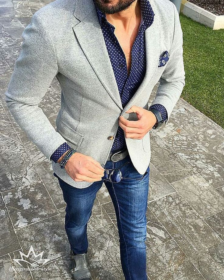 25+ best ideas about Grey Blazer Mens on Pinterest | Mens suits style Gq mens style and Formal ...