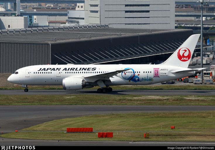 New Doraemon Jet from JAL.. JA837J. Boeing 787-8 Dreamliner. JetPhotos.com is the biggest database of aviation photographs with over 3 million screened photos online! #aviationcraft