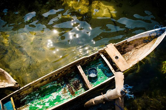 Flores Indonesia  Travel  Photography  Wall Art  by TBOphotography, $28.00 This small boat was found in a remote fishing village we were fortunate enough to visit during our stay in Maumere, Flores. ~ TBOphotography
