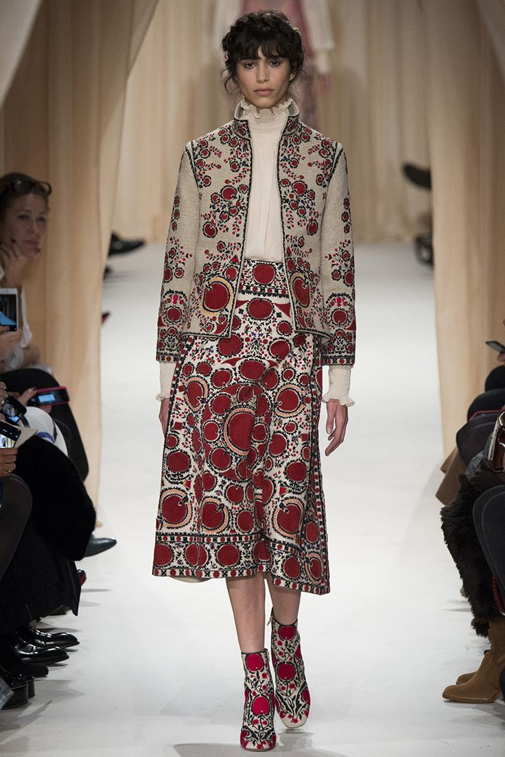 Valentino Spring 2015 Couture Runway – Vogue. Wouldn't wear all these items together, but would individually.