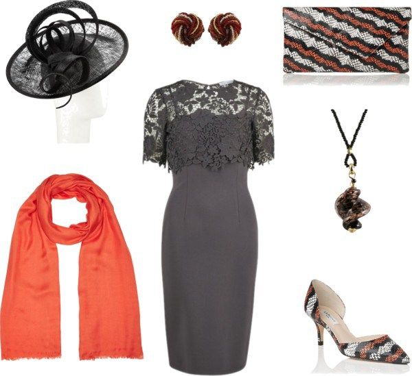 Mother of the Groom Outfit Ideas - a seemingly classic outfit that uses sassy accessories to provoke interest