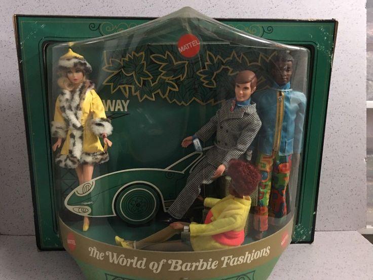 Vintage BARBIE STORE DISPLAY 1970 WITH CHRISTIE, BRAD & KEN NRFB MIB MIP MOC | eBay