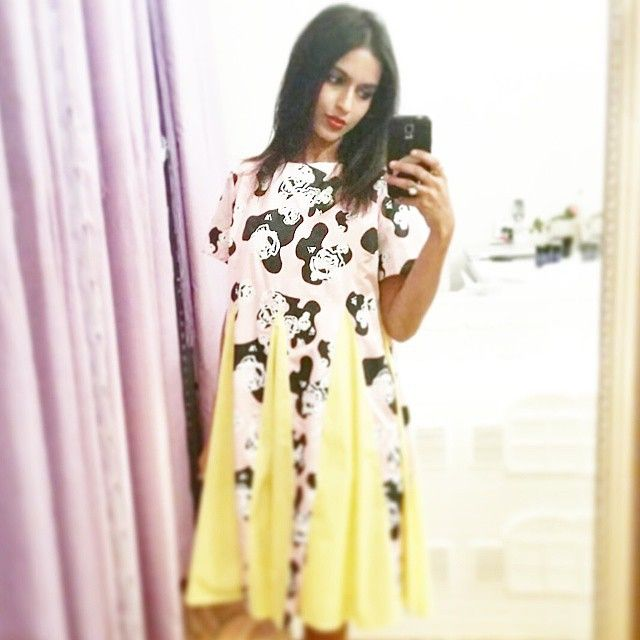 @g.u.i.d.s wearing our Phyllis Rose Dress in store and online! @lady_petrova #wndlnd #selfie #dress