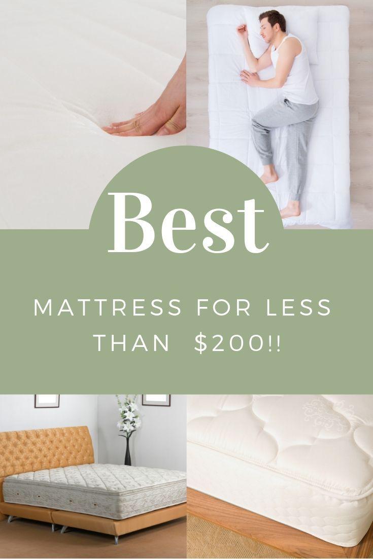 Need A Great Mattress For Less Than 200 Best Mattress Affordable Mattress Best Crib Mattress