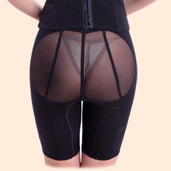 3 Pcs Embroidered Tummy Control Shapewear Waist Slim Hip-Lifting Bodysuit