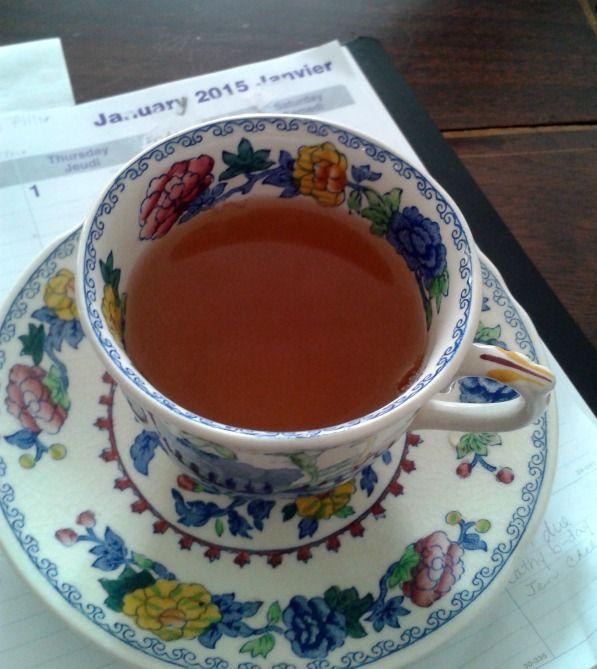 A Green Tea Resolution.