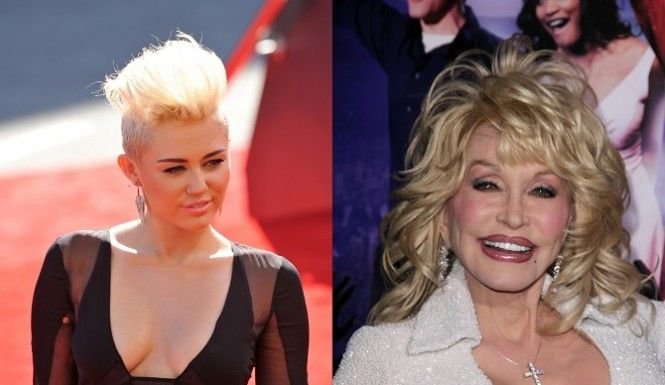 Miley Cyrus Wants The Role Of Dolly Parton In Her God-Mother's New Biopic