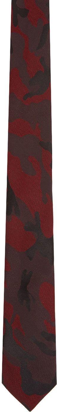 Valentino - Red Valentino Garavani Camo Tie