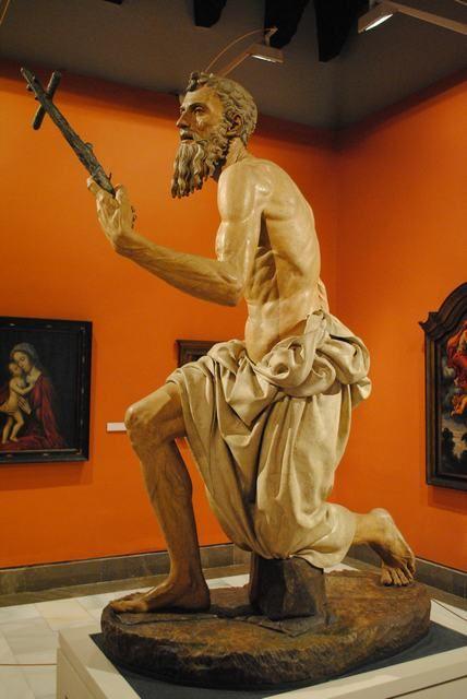 escultura san jerónimo sevilla - Buscar con Google
