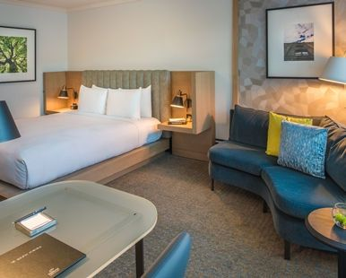 The Duniway Portland, a Hilton Hotel, OR - King Guest Room Angled