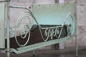 ≥ Brocante frans smeedijzeren bed (2 x) - Antiek | Meubels | Bedden - Marktplaats.nl