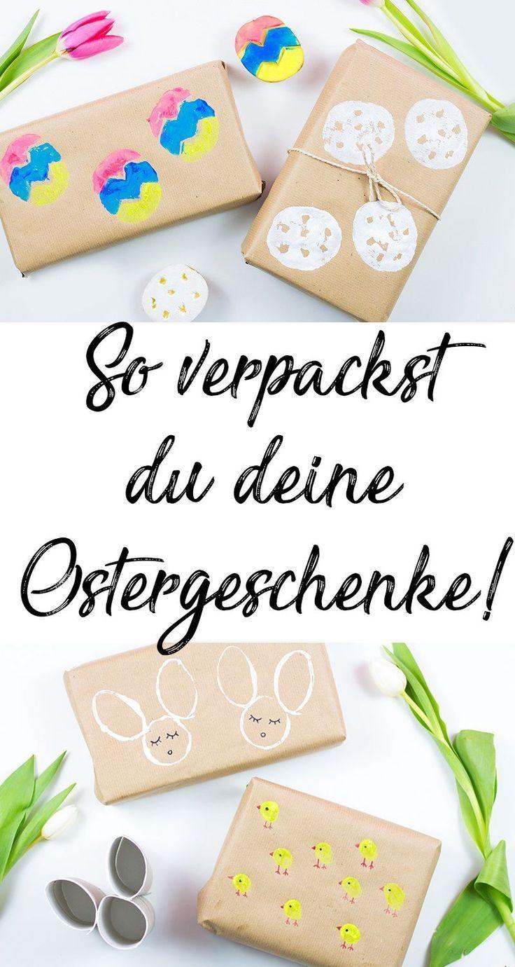 Au/ßergew/öhnliche Osterdeko 6er-Set Eier aus braunem Packpapier