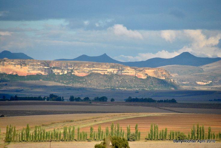 Farm Fields - Clarens, Free State. BelAfrique - Your Personal Travel Planner - www.belafrique.co.za