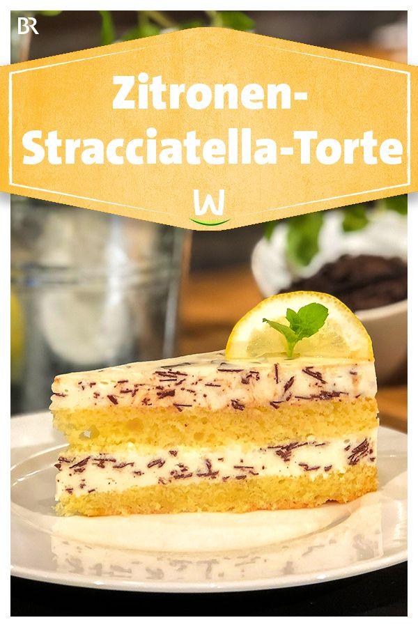 Wir In Bayern Rezepte Zitronen Stracciatella Torte Br De In 2020 Kuchen Und Torten Rezepte Lebensmittel Essen
