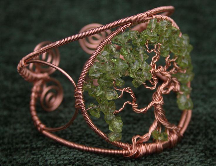 Tree of Life - copper wire bracelet