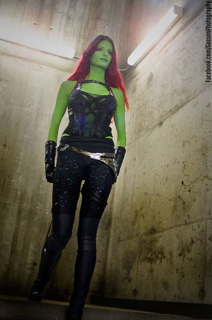 Gamora (Guardians of the Galaxy) #cosplay by Kay Pike at Animethon 2014