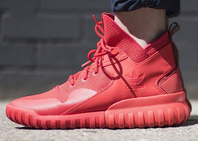 The Best Men's Shoes And Footwear : adidas Tubular X 'Red