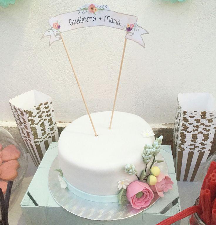 Una tarta muy especial para una boda preciosa #tarta #cake #boda #bodaensegovia