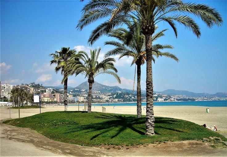 Malaga- plaża.