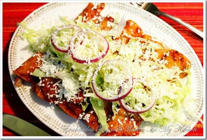 Enchiladas receta para la salsa