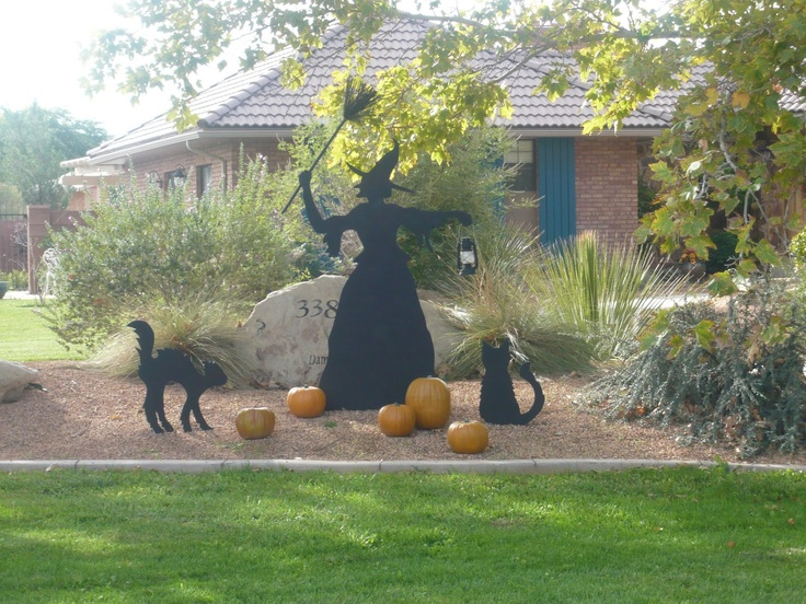 17 Best Images About Halloween Yard Art Wood Art On