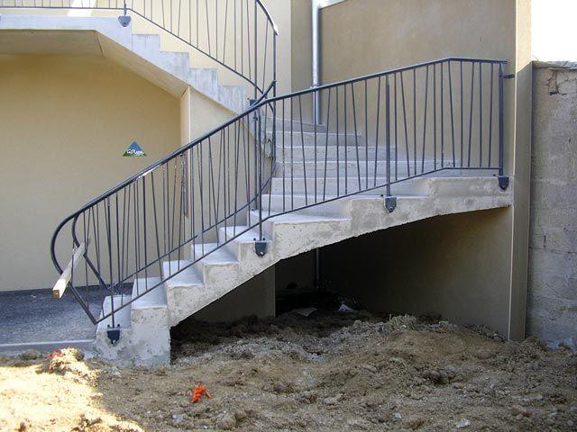 Les 8 meilleures images du tableau rambarde sur pinterest for Rambarde d escalier exterieur