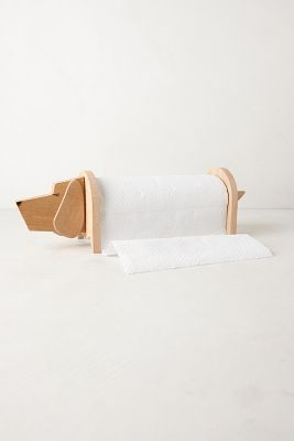 Pup Paper Towel Holder from Anthropologie