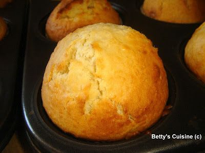 Betty's Cuisine: Muffins με καρύδα