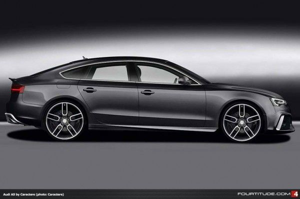 New Caractere Styling for Facelifted A5 and S5 - Fourtitude.com