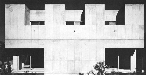 House in Kugahara 1972 Kazuo Shinohara