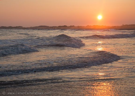 Sunset in Cape May New Jersey by CanonCameraGeek