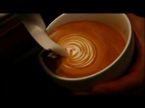 Latte Art Coffee Design Book - 08 Line Heart