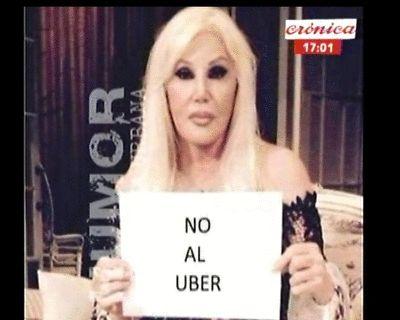 "[AHORA] FUROR POR EL ""MEME"" DE SUSANA GIMÉNEZ @Su_Gimenez | NO AL #UBER @Uber_ARG #Crónica @CronicaTV @cronicaweb"