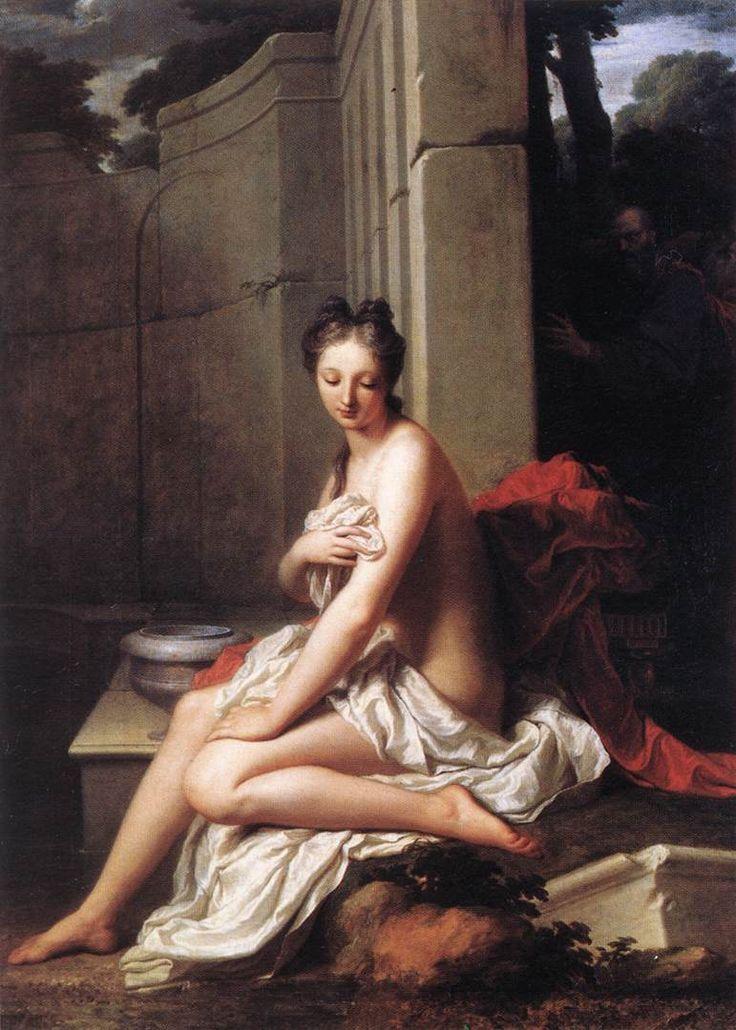 Jean-Baptiste Santerre (ca. 1658, Magny-en-Vexin, France - ca. 1717, Paris, France)  Susanna at the Bath 1704  Musée du Louvre