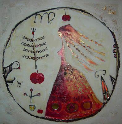 ♥ Hatti seal of a goddess