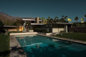 Kaufmann Desert House, Richard Neutra, 1946