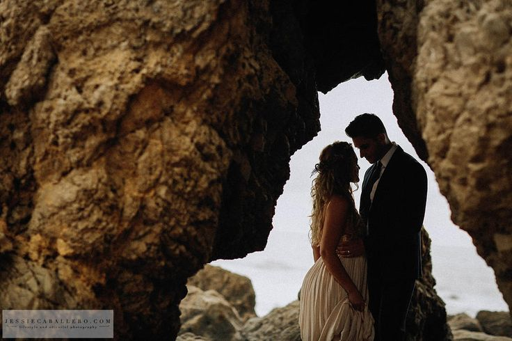 Beach Elopement Photography - Malibu, CA