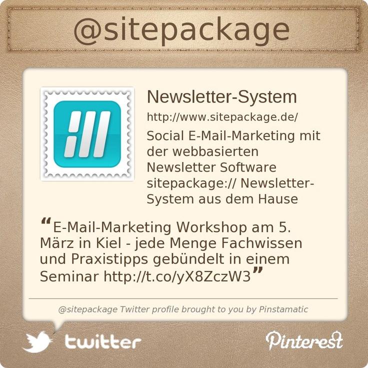 @sitepackage auf Twitter folgen