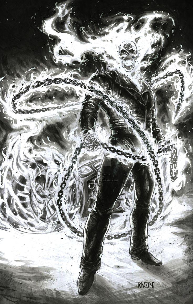 Ghost Rider by Ryan Pasibe