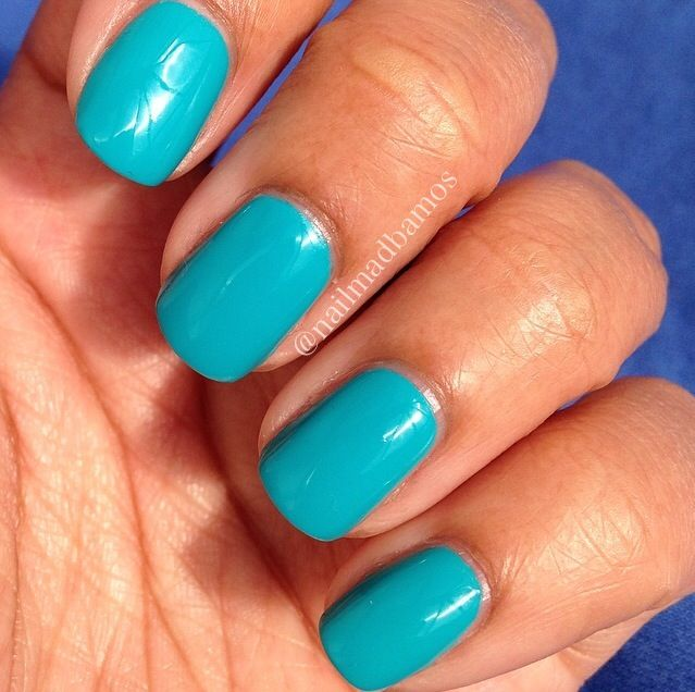 Perfect colour for summer, Barry M Gelly in Guava